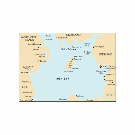 Imray nautical chart c62 irish sea only for Irish mail cart plans