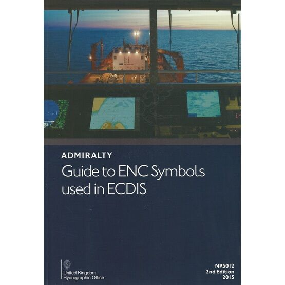 NP5012 Admiralty Guide to ENC Symbols used in ECDIS