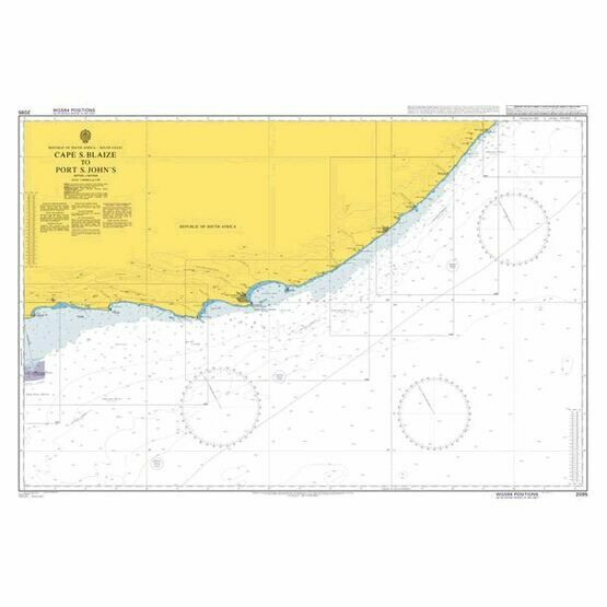 2095 Cape St Blaize to Port St John's Admiralty Chart
