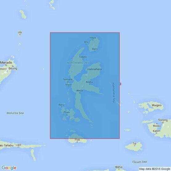 2788 Halmahera and the Adjacent Islands Admiralty Chart