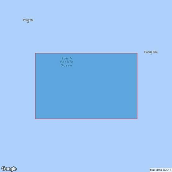 4614 Ile Rapa to Pacific-Antarctic Rise Admiralty Chart