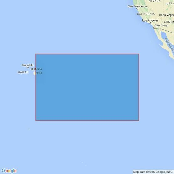 4808 Hawaii to the Clipperton Fracture Zone Admiralty Chart