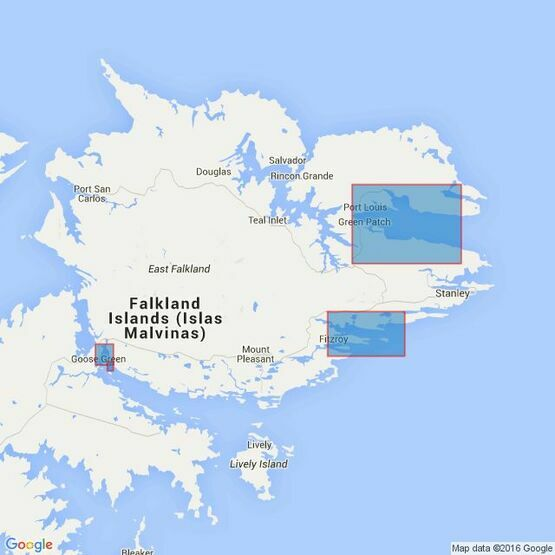 2550 Plans in East Falkland Island Admiralty Chart