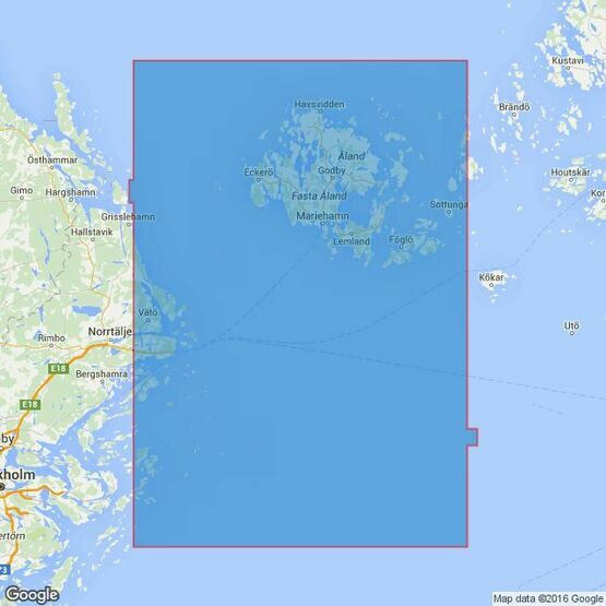 689 Gulf of Bothnia Entrance to the Gulf of Bothnia Admiralty Chart